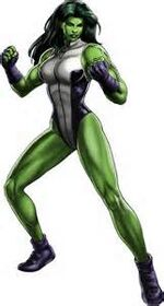 She-Hulk (Marvel Ultimate Alliance 2)