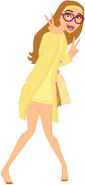 Honey Lemon barefoot