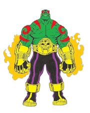 Drax The Destroyer Guardians of the Galaxy Marvel