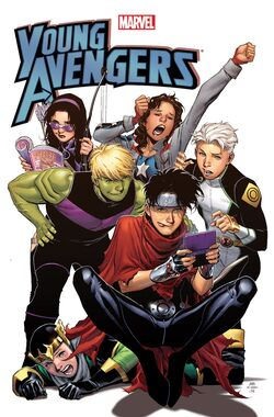 Young avengers earth 609