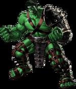 World War Hulk Right Portrait Art