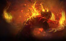 Video games fire league of legends artwork brand the burning vengeance 3363x2116 wallpaper www.wall321.com 36