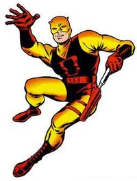 Daredevil early costume