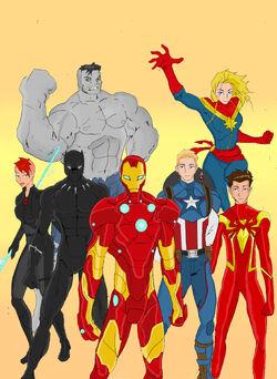 Ultiverse Avengers team