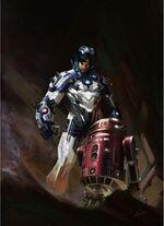 Iron Mandalorian 61677