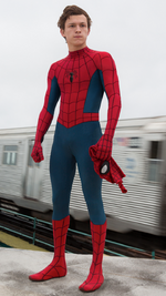 Spider man homecoming comic accurate suit by magnummaximofffanart dcswwbn