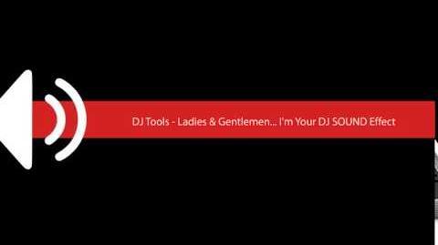 DJ Tools Ladies & Gentlemen I'm Your DJ SOUND Effect