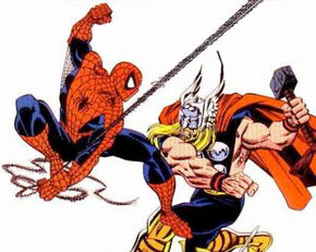 Spidermanvsthor
