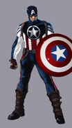 Captain America (New Suit) (Earth-1111)