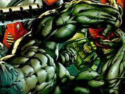 Hulk vs army