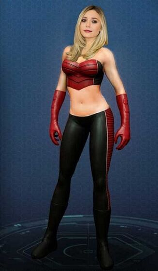 Scarlet Sorceress Marvel