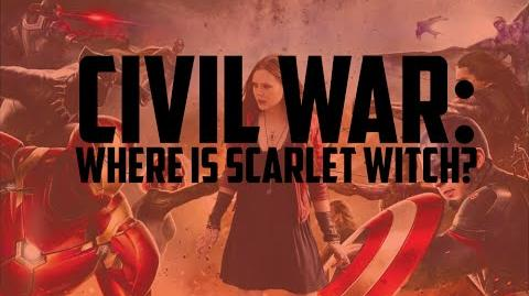 Civil War Where is Scarlet Witch?