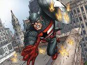 Captain America Earth 606