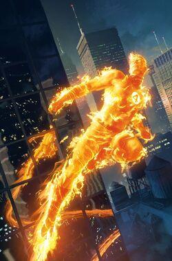 Storm Human Torch 61615