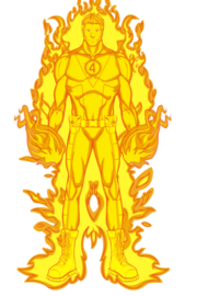 Jonathan Storm (Earth-515) (Fire Form)