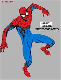 My Spider Man WIth weblines