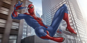 The-Amazing-Spider-Man-Art-by-Patrick-Brown