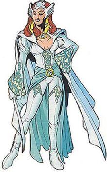 White Queen II Adrienne Frost