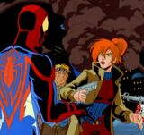 Karen Meets Spider-Man
