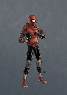 Spider-Man wrestling outfit