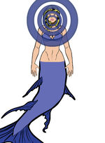 Lorelei mermaid form