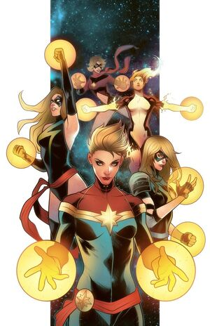 Ms. Marvel Disambiguation