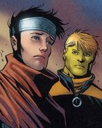 Dorrek VIII (Earth-1010) and William Kaplan (Earth-1010) 016