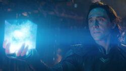 Loki with Space Stone