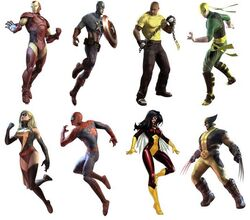 New Avengers (Marvel Ultimate Alliance)