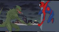 Astonishing Spider-Man vs The Lizard cropped