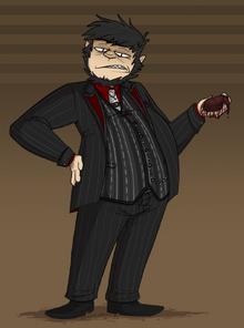 Demon in a suit by skulltopus-d89a0k3