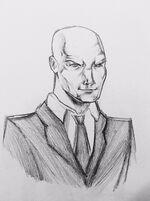 Professor X-Sketch