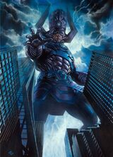 Galactus attack Earth-61615