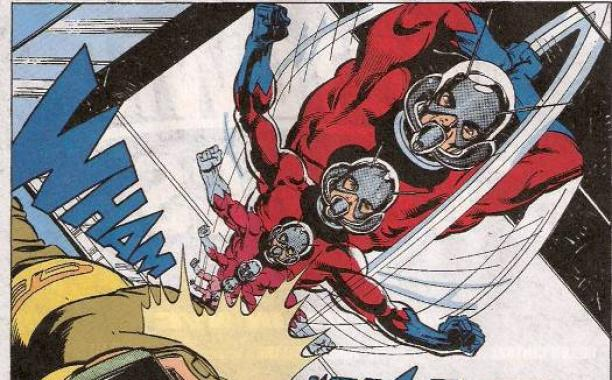 Image result for shrinking antman comics
