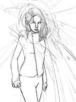 Emma Frost Mind Games-Sketch