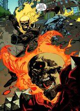 Ghost Rider vs Vengeance 61615