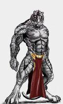 Steel Tiger Marvel
