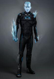 Iceman dystopian future