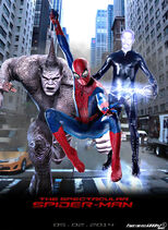 The amazing spider man 2 movie poster fanmade by timetravel6000v2 d5tb5jw