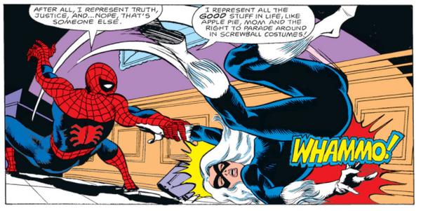 Spider-Man represents