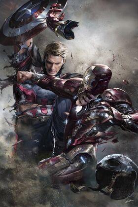 Civil war fan poster