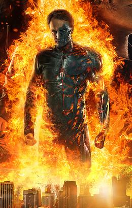 Human Torch A 166 014