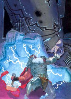 Thor and Galactus Earth-61616