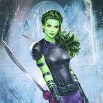 Gamora Black Order (Infinitiverse)