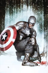 Captain America Alternate Suit Earth-61615