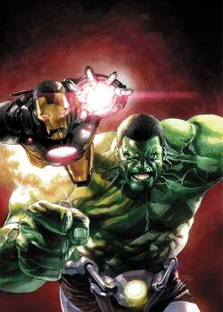 Hulk Ross and Rhodey Earth-61616