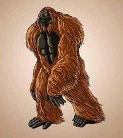 Gigantopithecus Marvel Universe