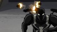 Agent Venom fires A!