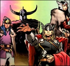 Race Asgardians