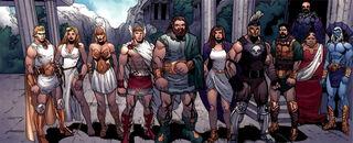 Olympians - Marvel Comics
